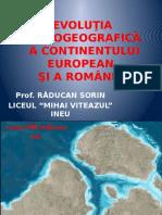 0 Europa Si Romania Evolutia Palegeografica