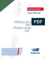 Mobileye 5 - User Manual REV A04