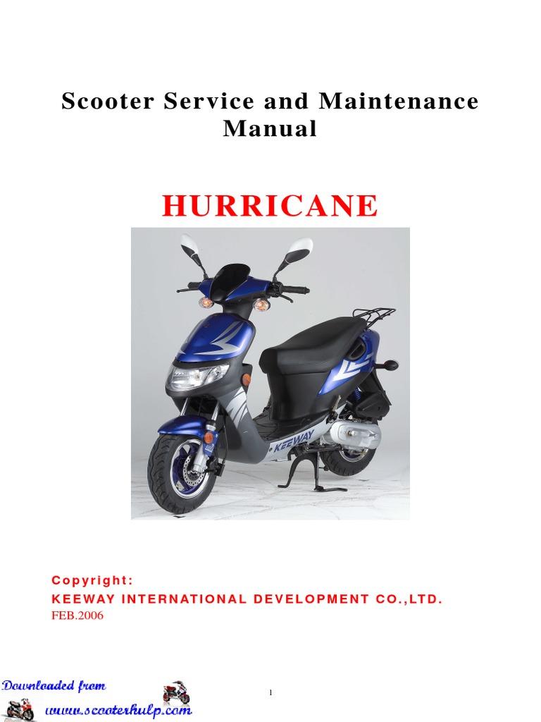 manual moto keeway owen 150