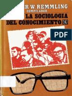 HaciaLaSociologíaDelConocimientoPLATAFORMASOCIOLOGICA