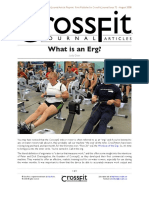 What is an Erg