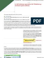 Averiguar La Clave Del Sistema Operativo de Windows Preinstalado. Software e Instrucciones Para Activar.