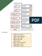Blogwork 4 - Wh Questions
