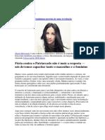Alanis Morissette Feminismo Precisa de Uma Revolução