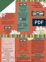 Ladies Precept Conference 2010 Flyer