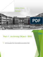 Idocs Archive and Puring