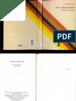 Arte y Objetualidad_Michael Fried