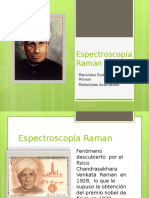 Espectroscopía Raman