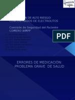 manejo de farmacos citostaticos enfermeria