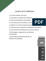 Didactica General Tema1