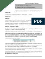 11 Especificaciones Técnicas CM Nº1 D. Vega