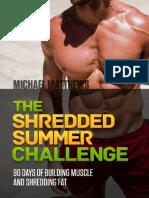 The Shredded Summer Challenge (1)