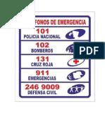 Numeros de Emergencia
