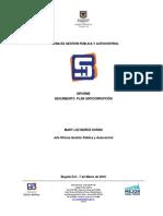 Informe Seguimiento Plan Anticorrupción 2015 - 2016
