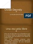 9. Ovide Decroly