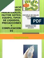 Administracic3b3n de Lc3adquidos Parenterales Factor Goteo Equipo