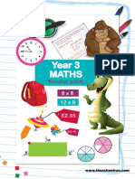 y3 Maths Booster Pack
