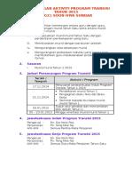 Perancangan Aktiviti Program Transisi Tahun 2015