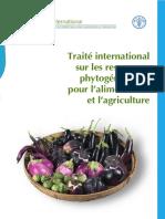 Traité international sur les ressources phytogénétiques pour l'alimentation et l'agriculture