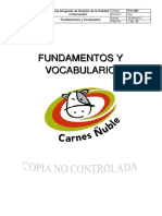 P-C-001 Fundamentos y Vocabulario
