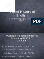 2. History of English