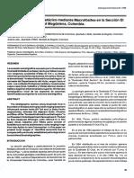 Bioestratigrafia Del Cretaclco Mediante Macrofosiles en La Seccion EI Ocal