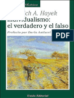 Individualismo_ El Verdadero y - Hayek, Friedrich A
