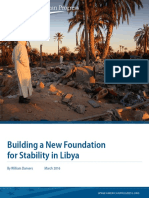 Building a New Foundation for Stability in Libya