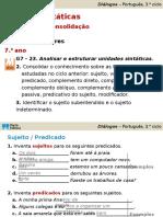 Diálogos- Funções sintáticas