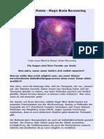 Magic Mind Reset - Brain Recovering