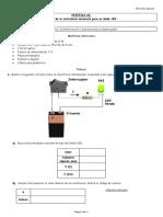 Práctica 26. Cálculo de la resistencia necesaria para un diodo LED