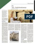 Antijudaismus, Antisemitismus, Antizionismus