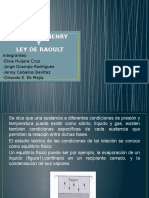 LEY de HENRY Y RAOULT (1)