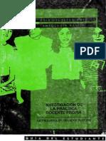 Investigación de la Práctica Docente propia (UPN)