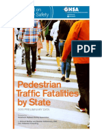 Pedestrian Traffic Fatalities by State
