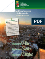 Plan de Desarrollo Departamental de Santa Cruz