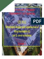 Deep basements & cut & cover - 1