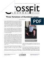 The Dumbbell Lunge