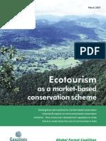 Ecotourism as a Market-Based Conservation Scheme