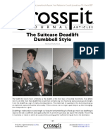The Suitcase Deadlift