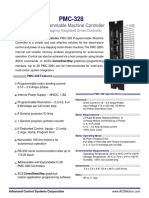Advanced Control Systems - PMC-328 Programmable Machine Controller