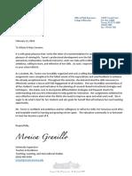 monic letter of rec