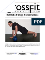 Kettlebell Clean Combinations