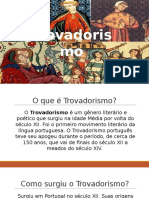 Português - Trovadorismo