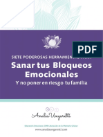 Siete poderosas Herramientas para sanar tus bloqueos emocionales AnaliaUngaretti eBook