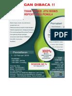 Format Seminar Pelatihan Bisnis