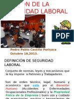 Seguridad Laboral en Diapositivas