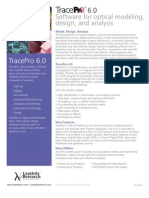 TracePro6.0 for Optical