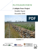 West Laikipia Fence Project