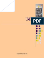ANNA UNIVERSITY -operaing system Unit 1